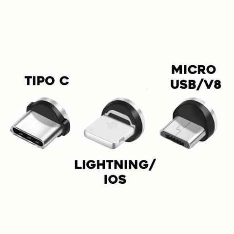 Imagem de Carregador Veicular 3 USB + Cabo Magnético 3 em 1 Original Sumexr Para Celular Samsung S8, S8 Plus, S9, S9 Plus