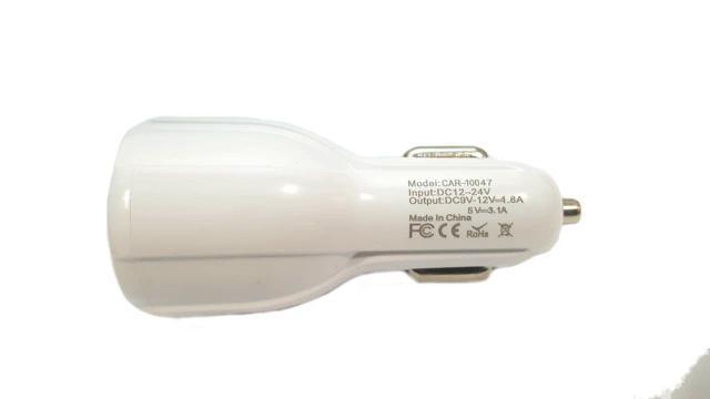 Imagem de Carregador Veicular Inova Turbo 2 Usb 3.1A CAR-10047 Carga Rápida