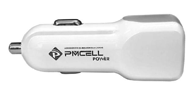 Imagem de Carregador Veicular Pmcell Com Cabo Usb Tipo C para Lg G5 G6 G7 G8 Fit One Thinq