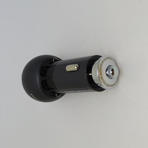 Imagem de Carregador Veicular Ultra Turbo com cabo de metal para Samsung S8 Plus