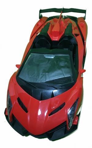 Imagem de Carrinho Carro Controle Remoto Lamborghini Conversível 26cm