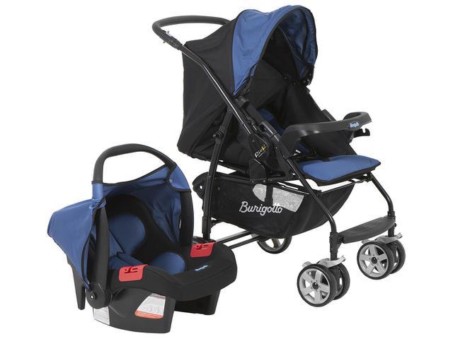 Imagem de Carrinho de Bebê com Bebê Conforto Burigotto