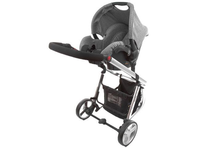 Imagem de Carrinho de Bebê com Bebê Conforto e Moisés Safety