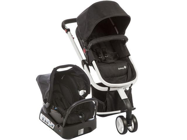 Imagem de Carrinho de Bebê com Bebê Conforto Safety 1st