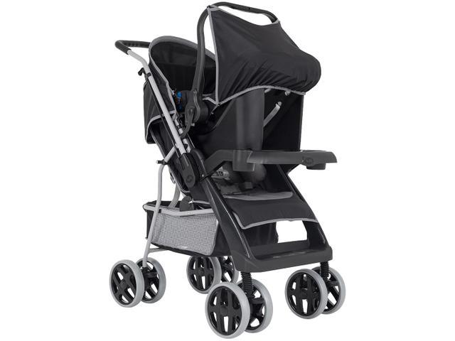 Imagem de Carrinho de Bebê com Bebê Conforto Tutti Baby