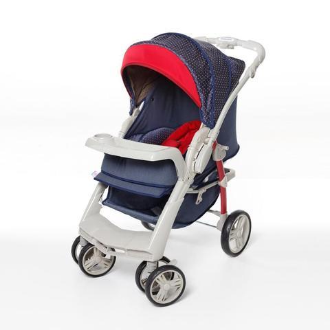 Imagem de Carrinho de Bebê Optimus Jeans + Cocoon Galzerano 1410JNS