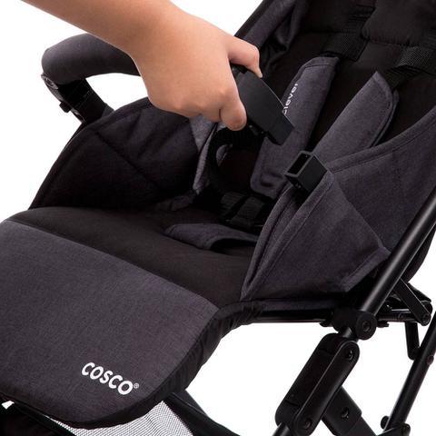 Imagem de Carrinho de Bebê Pocket Clever Bege Mescla - Cosco