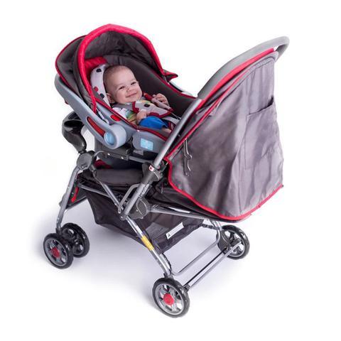 Imagem de Carrinho de bebê Travel system reverse Vermelho