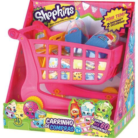 Imagem de Carrinho de compras shopkins 3586 dtc sortido - Dtc