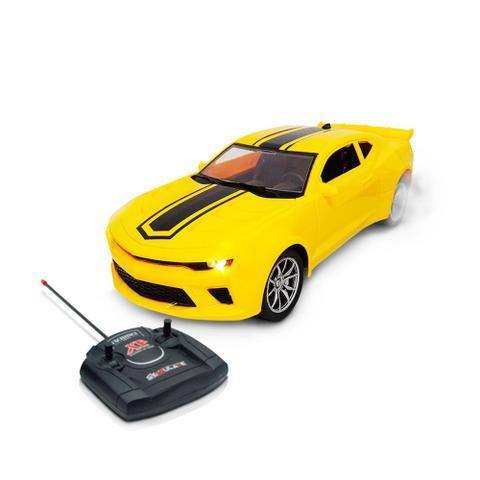 Imagem de Carrinho de Controle Remoto 25cm 1:16 Amarelo BW025AM Importway