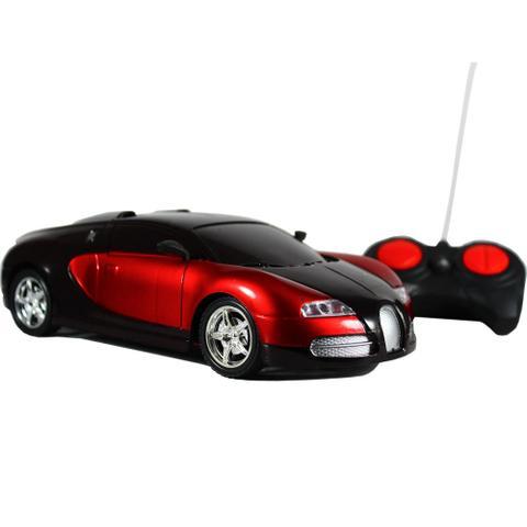 Imagem de Carrinho De Controle Remoto Esportivo Bugatti Vermelho
