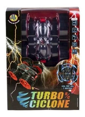 Imagem de Carrinho De Controle Remoto Turbo Ciclone Original Dtc - VERMELHO