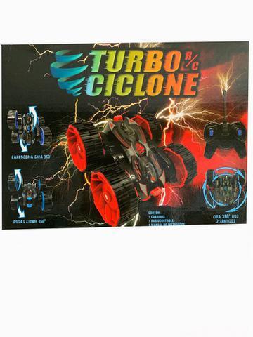Imagem de Carrinho de Controle Remoto Turbo Ciclone Vermelho - Dtc
