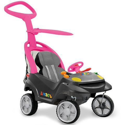 Imagem de Carrinho de Passeio Bandeirante Smart Baby Comfort Rosa - 521