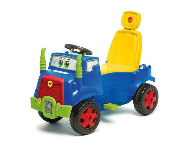 Imagem de Carrinho De Passeio Quadriciclo Truck Com Buzina Azul - Calesita