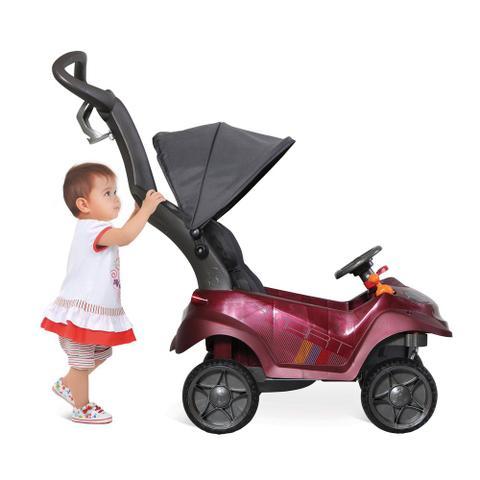 Imagem de Carrinho de Passeio Smart - Baby Comfort - Vinho - Bandeirante