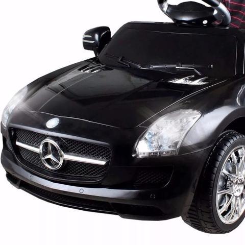 Imagem de Carrinho Elétrico Infantil Mercedes Preto 6 Volts II - Xalingo