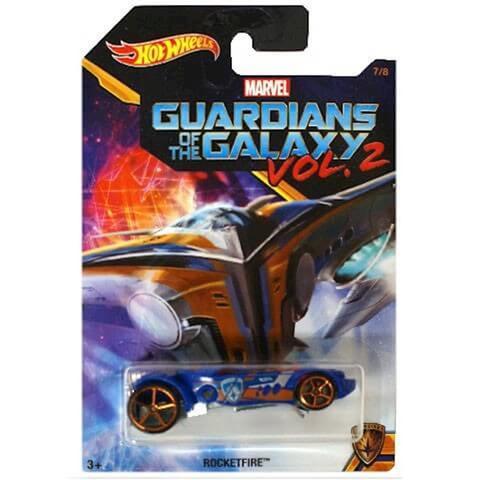 Imagem de Carrinho Hot Wheels Guardioes Da Galaxia 1:64 Mattel