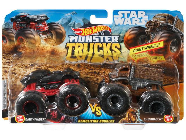 Imagem de Carrinho Hot Wheels Monster Trucks Mattel 2 Peças