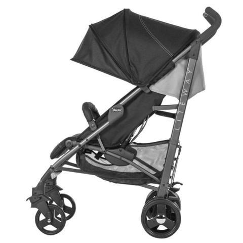Imagem de Carrinho Para Bebê Liteway³ Basic Jet Black - Chicco