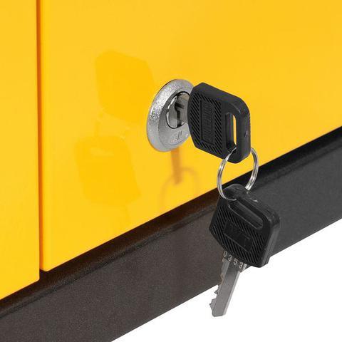 Imagem de Carrinho para ferramentas 730x425x850mm com 1 gaveta e portas - Vonder