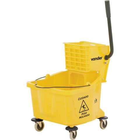 Imagem de Carro balde limpeza com espremedor 32 litros bev3200 - Vonder
