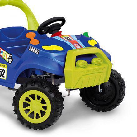 Imagem de Carro de Passeio Smart Car Com Pedal Azul 463 Bandeirante