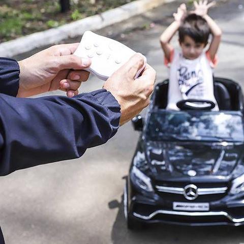 Imagem de Carro Elétrico 12v Mercedes GLA Preto - Xalingo