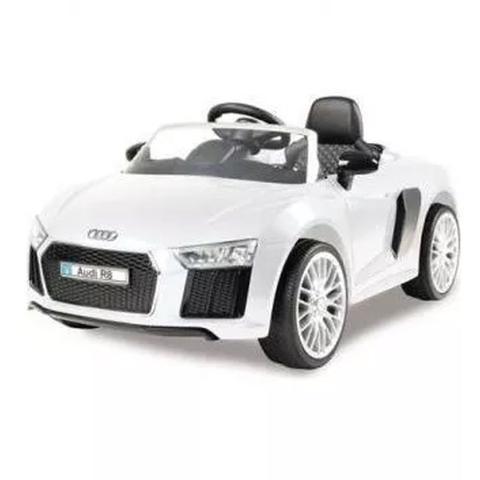 Imagem de Carro Elétrico Infantil Audi R8 Branco - Xalingo