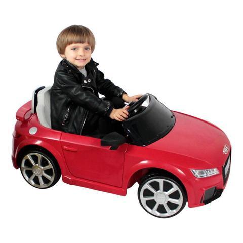 Imagem de Carro Elétrico Infantil Audi TT RS (Vermelho) R/C 12V - Belfix