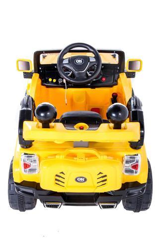 Imagem de Carro Elétrico Infantil Jipe Trilha 12V Amarelo