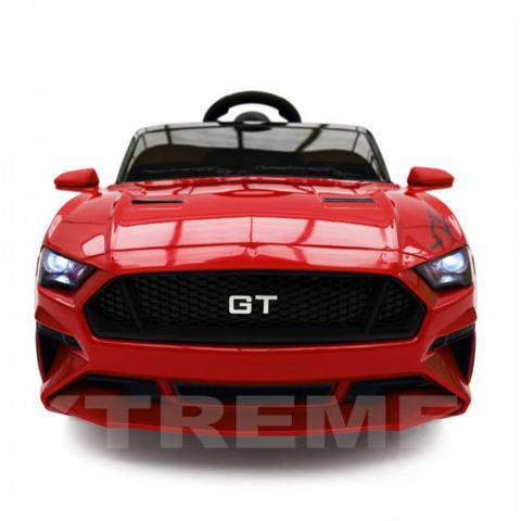 Imagem de Carro Elétrico Infantil Mustang GT - 12v - Vermelho com Controle Remoto