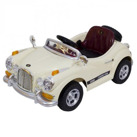 Imagem de Carro Eletrico Mini Veiculo Rolls Royce com Controle Remoto 12v Cor Bege  Bel