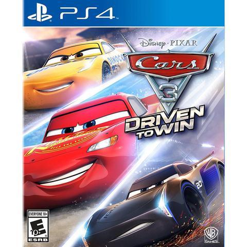 Jogo Cars 3 Driven To Win - Playstation 4 - Warner Bros Interactive Entertainment