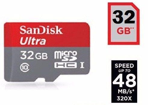 Imagem de Cartão 32gb Ultra - Micro Sd Classe 10 Sandisk