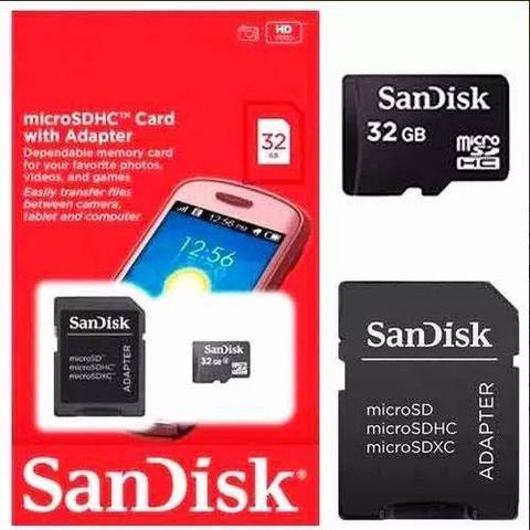 Imagem de Cartao de Memória microSD 32gb- Sandisk