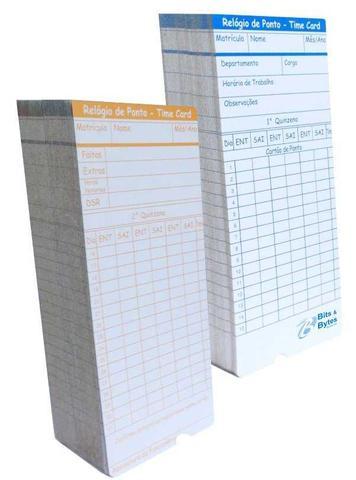 Imagem de Cartão de Ponto para Relógio Cartográfico (Cento)