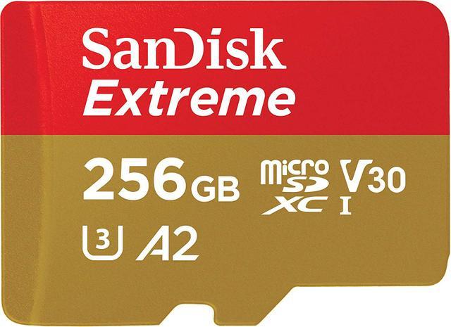Imagem de Cartão Micro Sd Sandisk Sdxc Extreme 256gb 160mb/s U3 A2