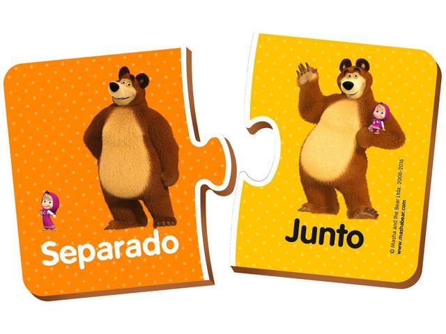 Imagem de Cartas Opostas Masha e o Urso