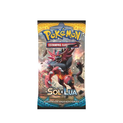 Imagem de Cartas Pokemon Booster Expansão Sol e Lua Sortidos - Copag