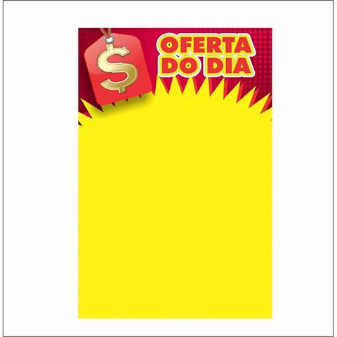 Imagem de Cartaz oferta do dia 29x40cm (c/50 unidades)