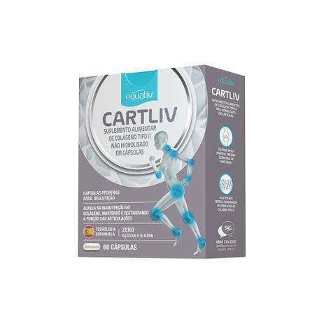 Imagem de Cartliv 60 Cápsulas Equaliv UC2 Articulações