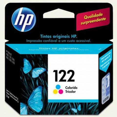 Imagem de Cartucho de Tinta Colorido HP 122 CH561HL (2 ml)