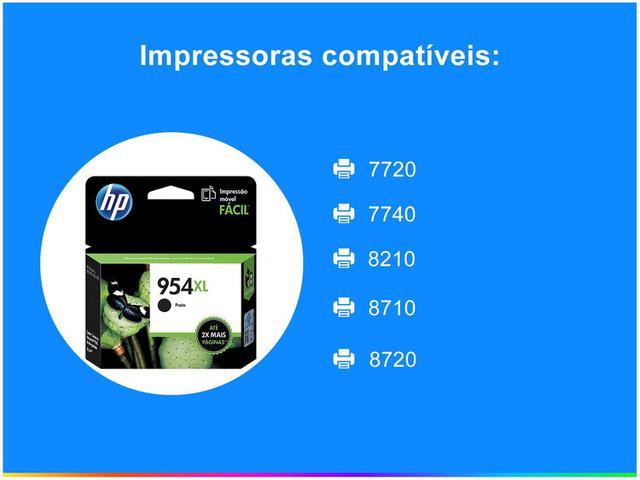 Imagem de Cartucho de Tinta HP 954 XL Preto