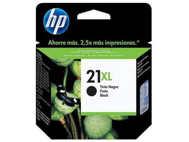 Imagem de Cartucho de Tinta HP Preto 21 XL