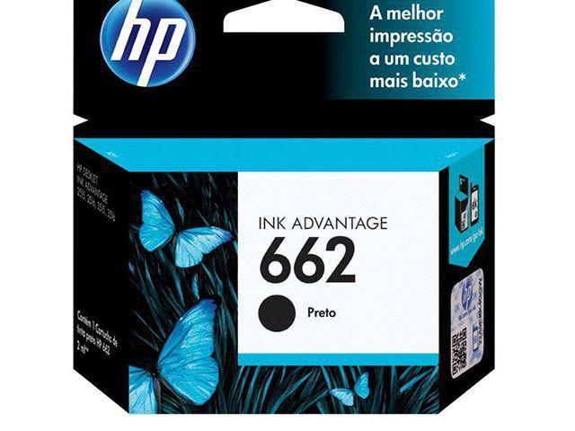 Imagem de Cartucho de Tinta HP Preto 662