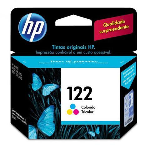 Imagem de Cartucho HP 122 Colorido 1,5ml CH562HB
