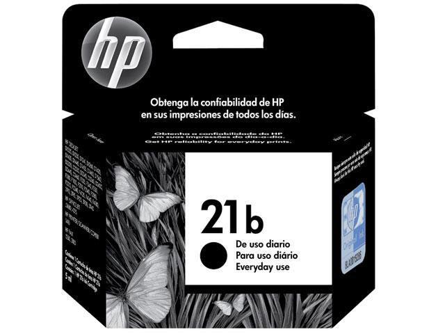 Imagem de Cartucho HP 21B Everyday Preto 7ML - C9351BB