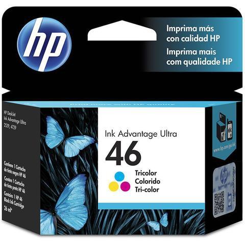 Imagem de Cartucho HP 46 Colorido Original (CZ638AL) 22560