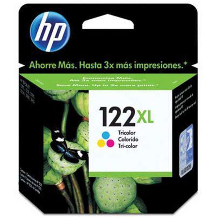 Imagem de Cartucho HP Original (122XL) CH564HB - cores rendimento 330 páginas